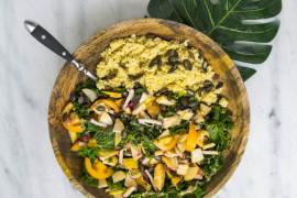 Tanie danie w 10 minut: kuskus + jarmuż + warzywa