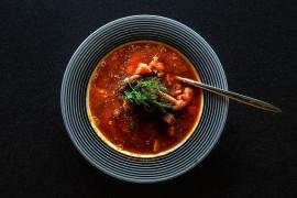 Bardzo ostra zupa pomidorowa – rozgrzewa ciało