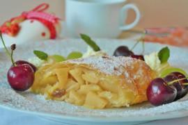 Prażone jabłka z cynamonem i kardamonem (do ciast,deserów,naleśników)