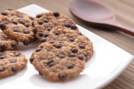 Ciasteczka z czekolady i fasoli czerwonej z puszki!