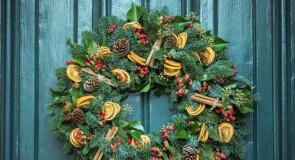 Dekoracje świąteczne z suszonych cytryn, pomarańczy i limonek!