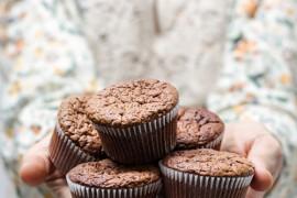 Muffiny z otrębów owsianych! Bardzo zdrowe!