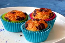 Czekoladowe muffiny z niespodzianką