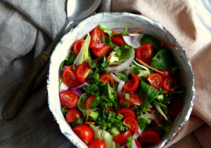 Błyskawiczna sałatka do obiadu