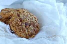 Szybkie ciasteczka owsiane- bez pieczenia!