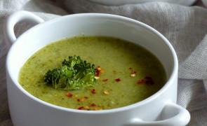 Krem z brokułów z kaszą jaglaną- prosty przepis