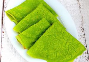 Zielone naleśniki (idealne dla niejadków)