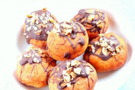 Pączki z czekoladą- prosty przepis