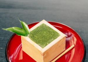 Słodki krem z zielonej herbaty