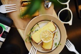 Banalne ciasto kokosowo- cytrynowe