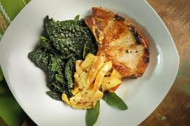 Duszony jarmuż- idealny dodatek do obiadu