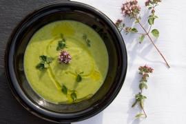 Cytrynowa zupa z cukinią
