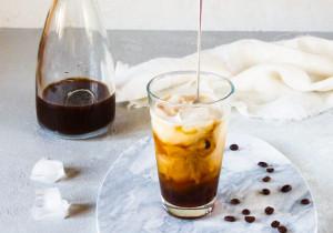 Wegańska kawa mrożona
