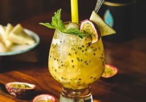 Orzeźwiający napój kiwi