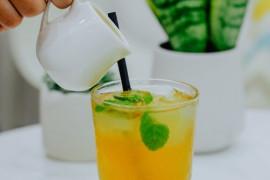 Mrożona herbata ananasowa