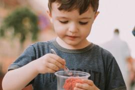Sorbet pomarańczowy z mascarpone- idealny dla dzieci
