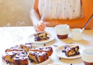 Ciasto jagodowe- babciny przepis
