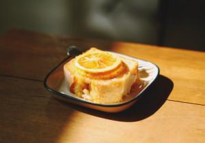 Pulchne ciasto cytrynowo- pomarańczowe