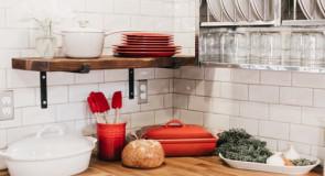 +10 inspiracji na przechowywanie naczyń kuchennych