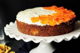 Ciasto marchewkowe z nutą pomarańczy