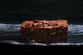 Brownie o smaku cynamonowym