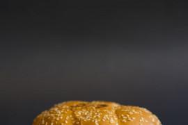 Hamburger z łososia