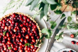 12 propozycji na słodkie desery z ŻURAWINĄ