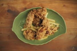 Kurczak w migdałowej panierce