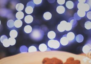 Pierniki świąteczne z miodem